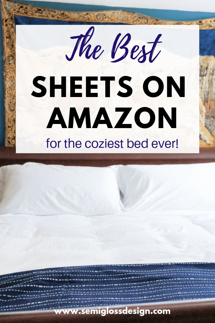 the best sheets on amazon