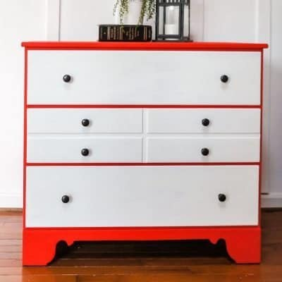 dresser painted in Country Chic Paint devotion and simplicity