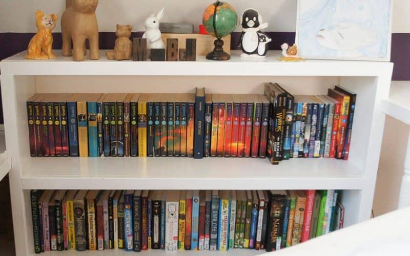 organized kids books