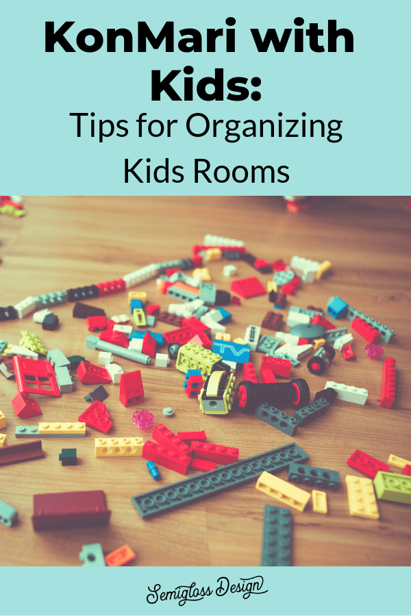 organizing a kids room