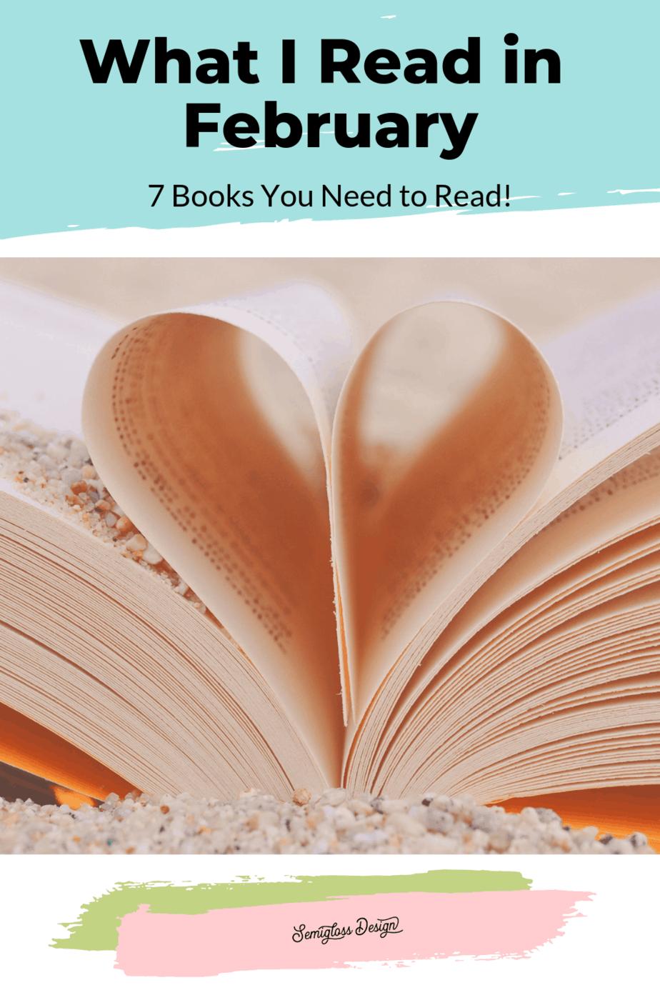 book shaped like heart