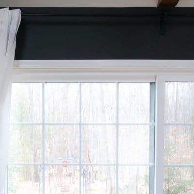 middle curtain rod bracket