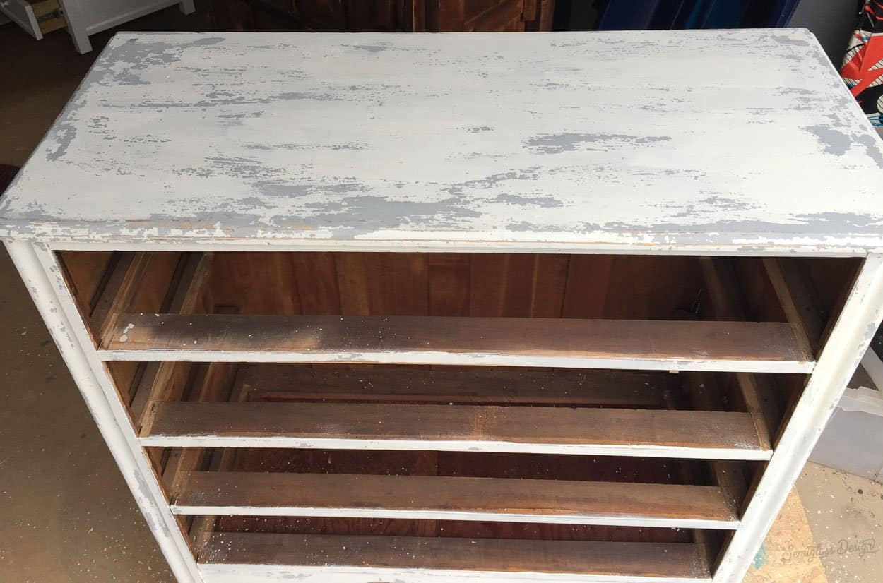 chippy milk paint results