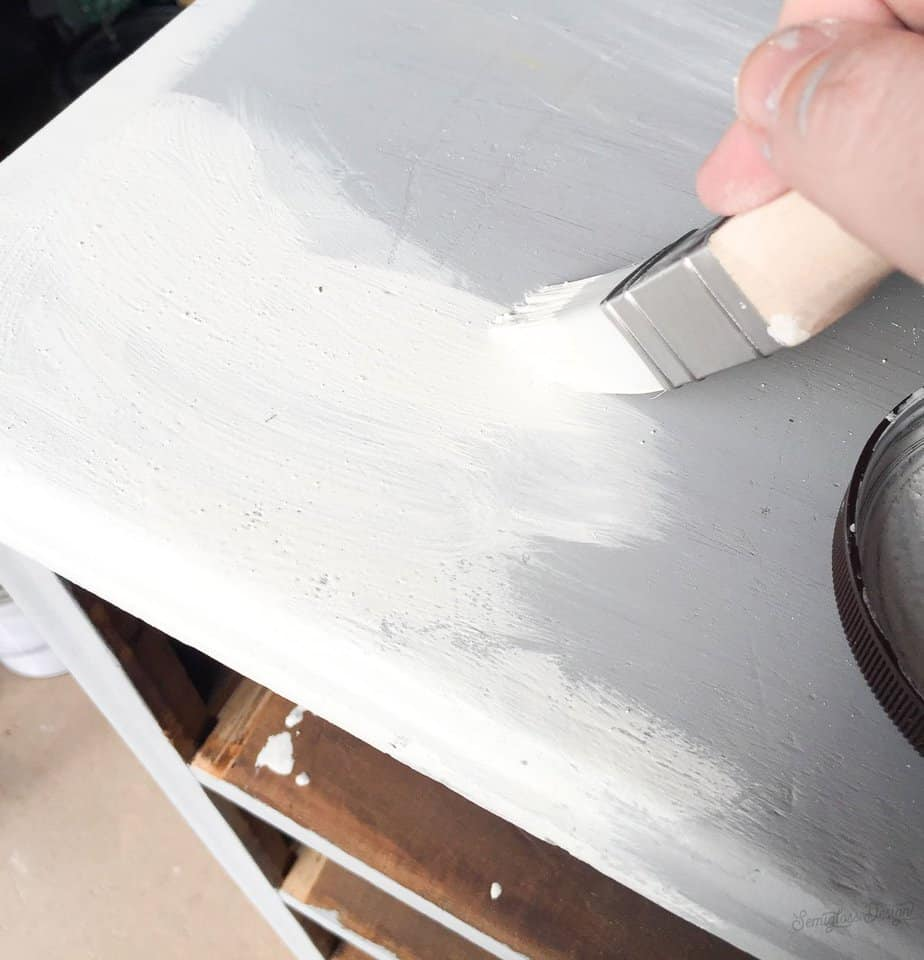 painting with milk paint