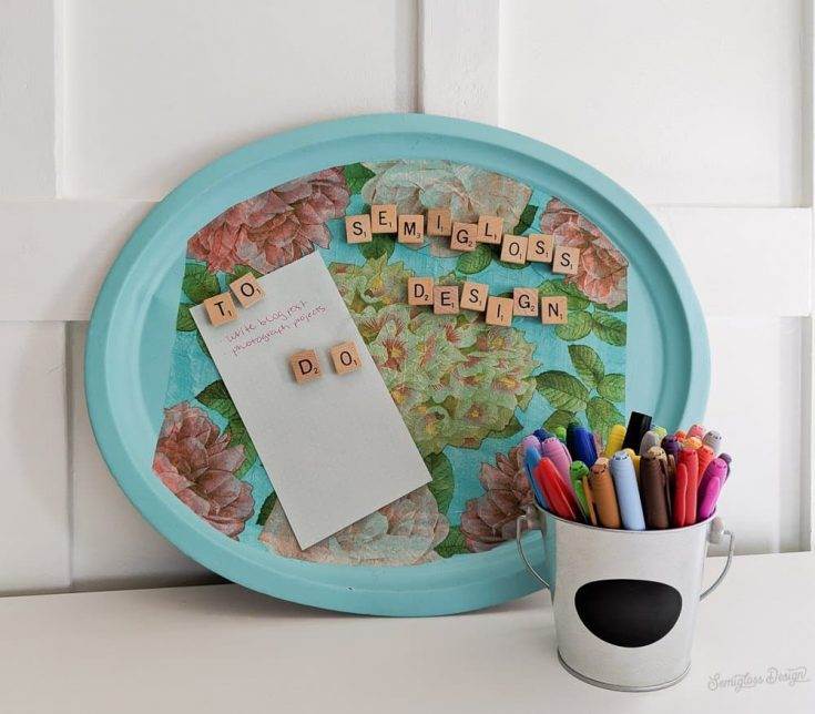 Magnetic Board and Scrabble Magnets