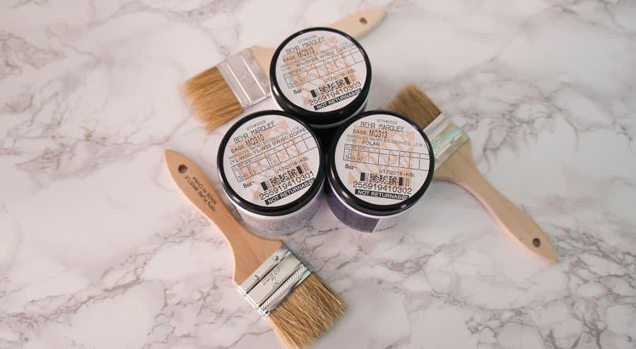 paint test pots