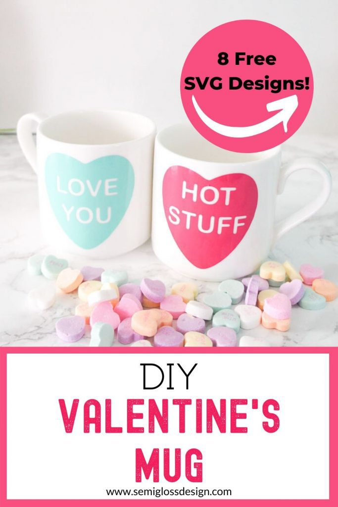 valentine's mug collage
