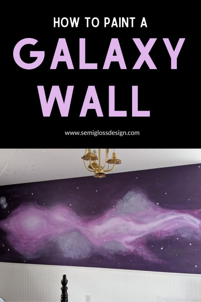 paint a galaxy wall