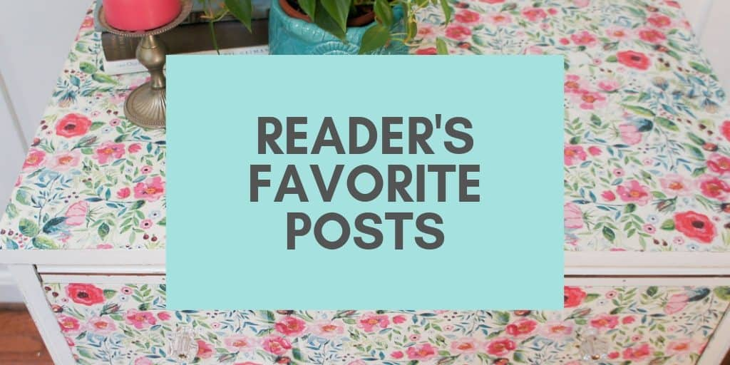Reader's Favorite Posts (1)