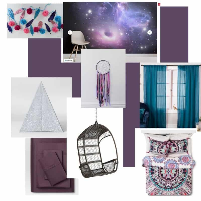 boho room plans