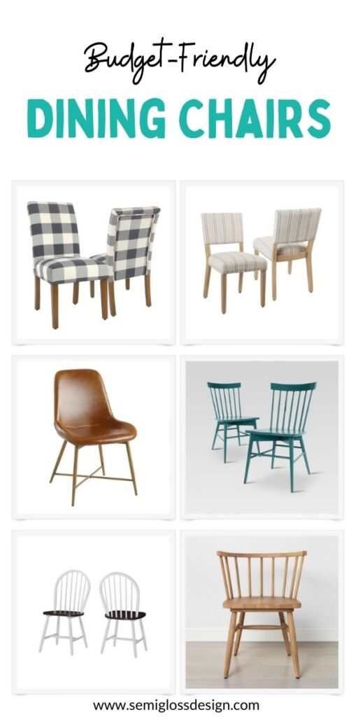 pin image - dining chair collage