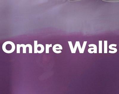 purple ombre walls