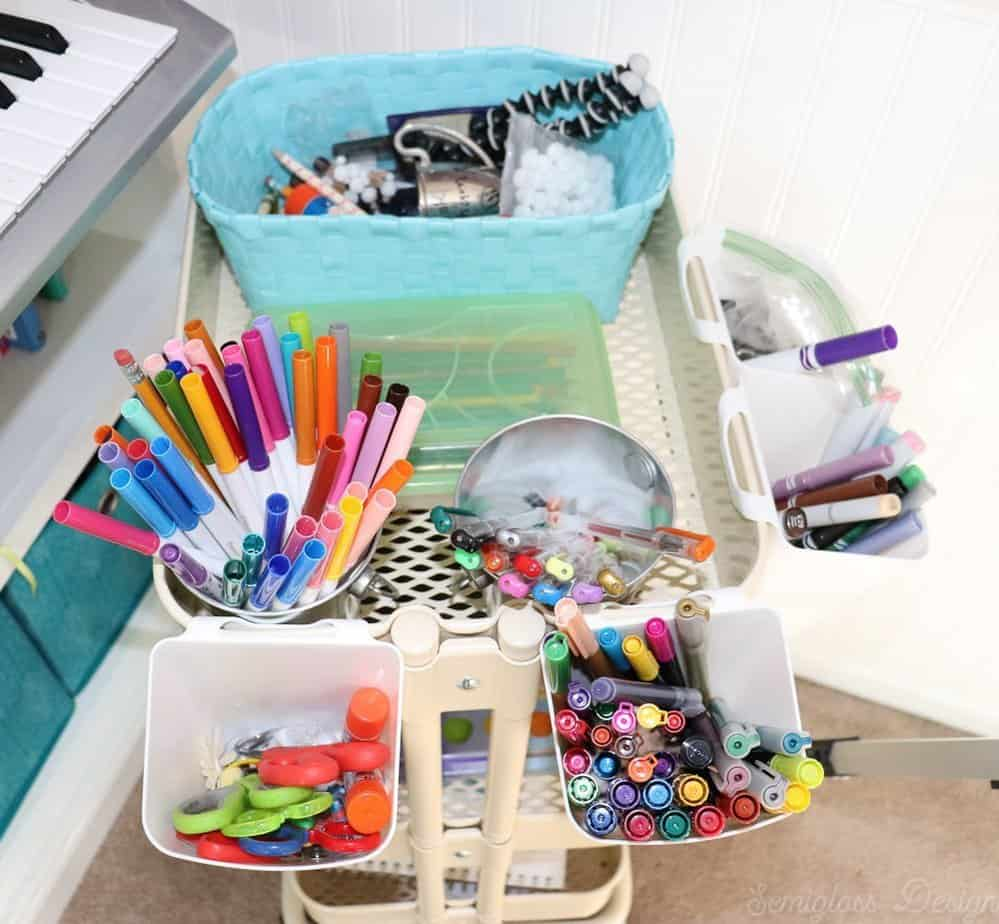 art supply storage