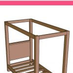 pin image - building plans for a canopy bed