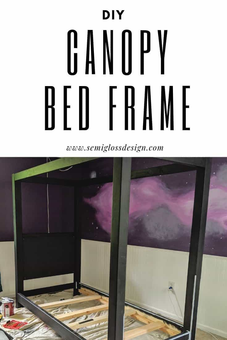 diy canopy bed frame