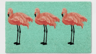 Flamingo Tufted Doormat - Sun Squad™