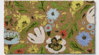 Floral Doormat Natural Green - Opalhouse™