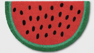 Watermelon Tufted Doormat - Sun Squad™