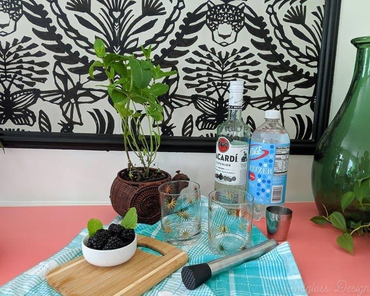 blackberry mojito supplies