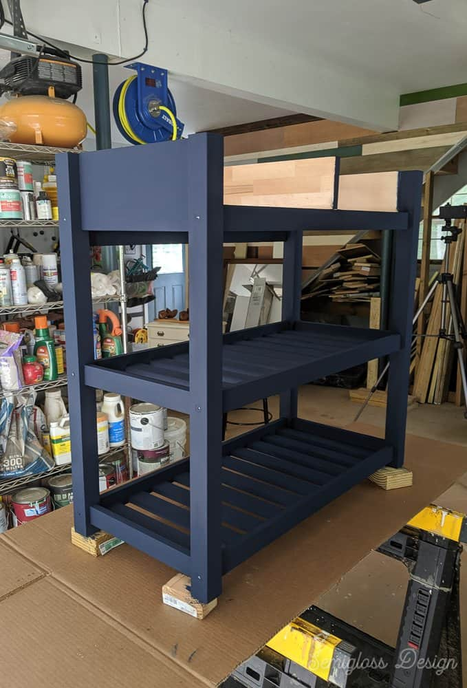 paint kitchen cart