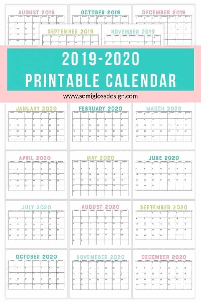 It's just a picture of Decisive 2014 and 2020 Calendars Printable