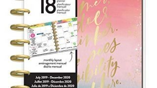 The Happy Planner - Classic 18 Months - Dated (July 2019 - December 2020) - Choose to Shine