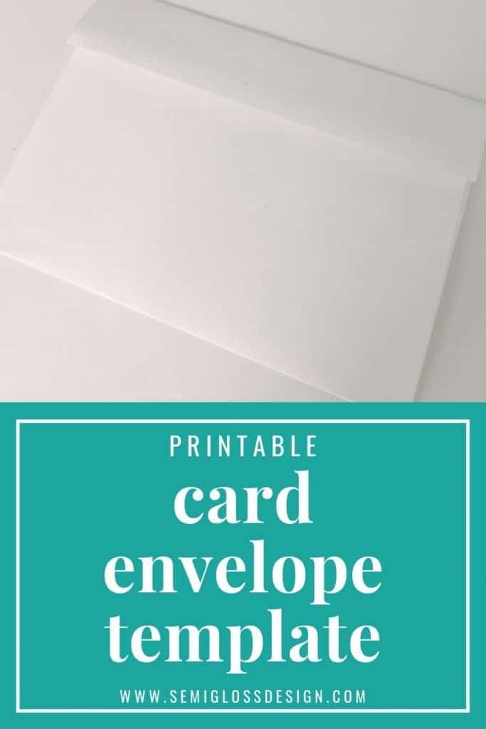 how to make an envelope for a card