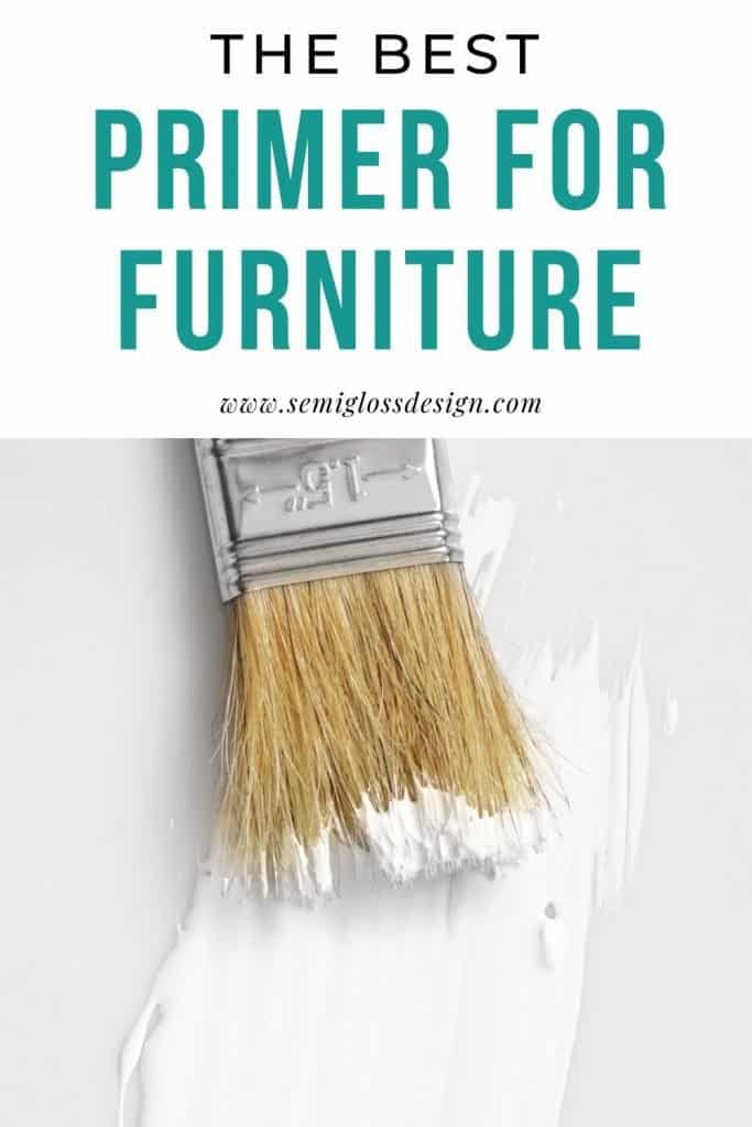 the best primer for wood furniture