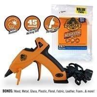 Gorilla Hot Glue Gun and Sticks, 75 ct