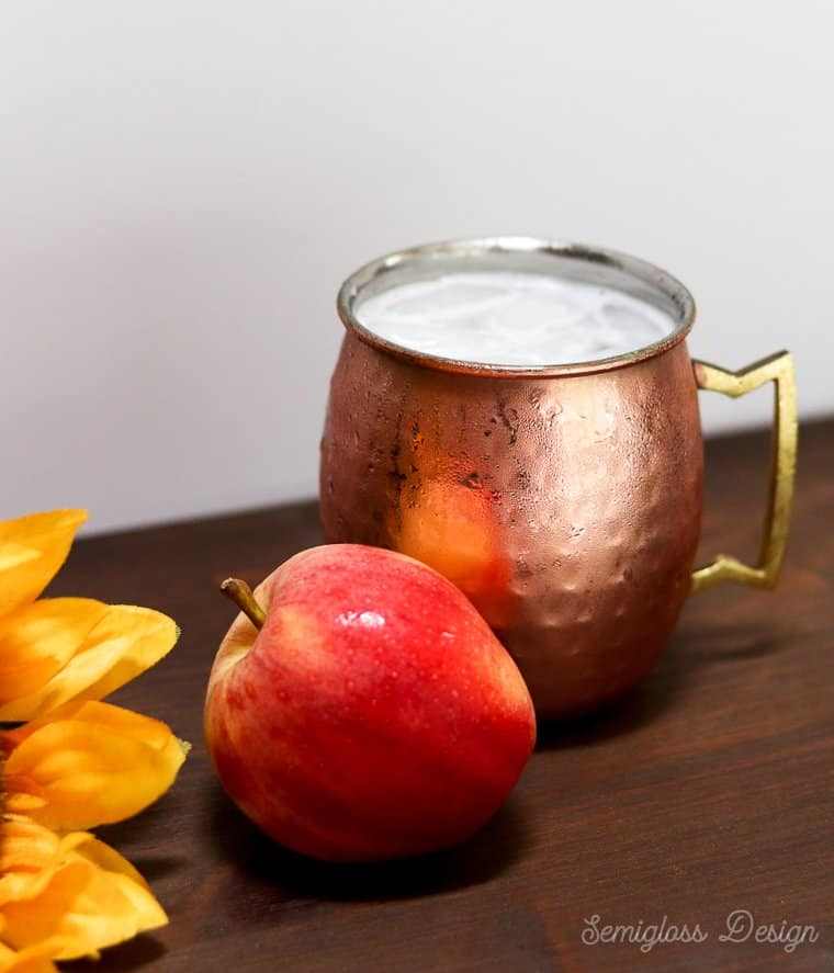 apple moscow mule for fall