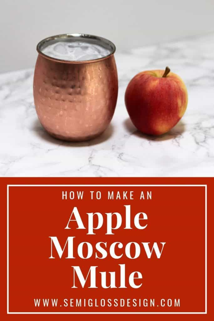 how to make an apple moscow mule