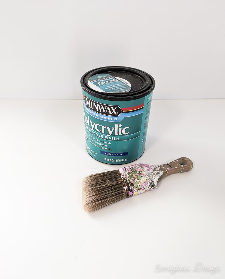 can of minwax polycrylic