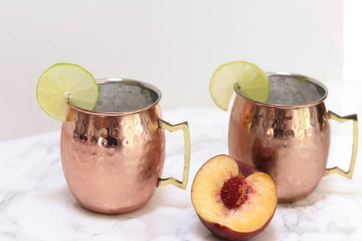 The Best Peach Moscow Mule Recipe
