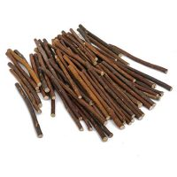 100pcs 5 Inch Long 0.1-0.2 Inch in Diameter Wood Log Sticks