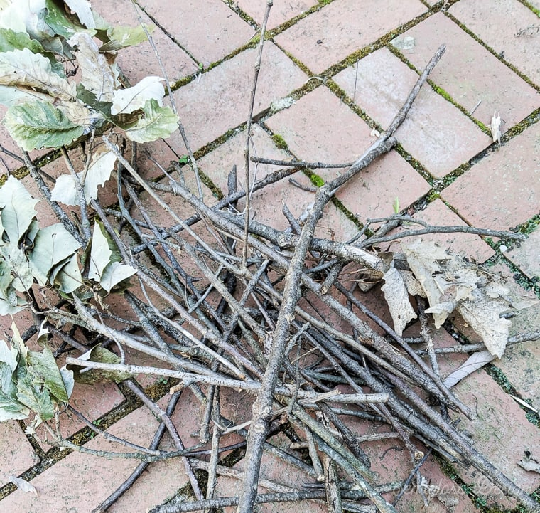 twigs for twig wreath