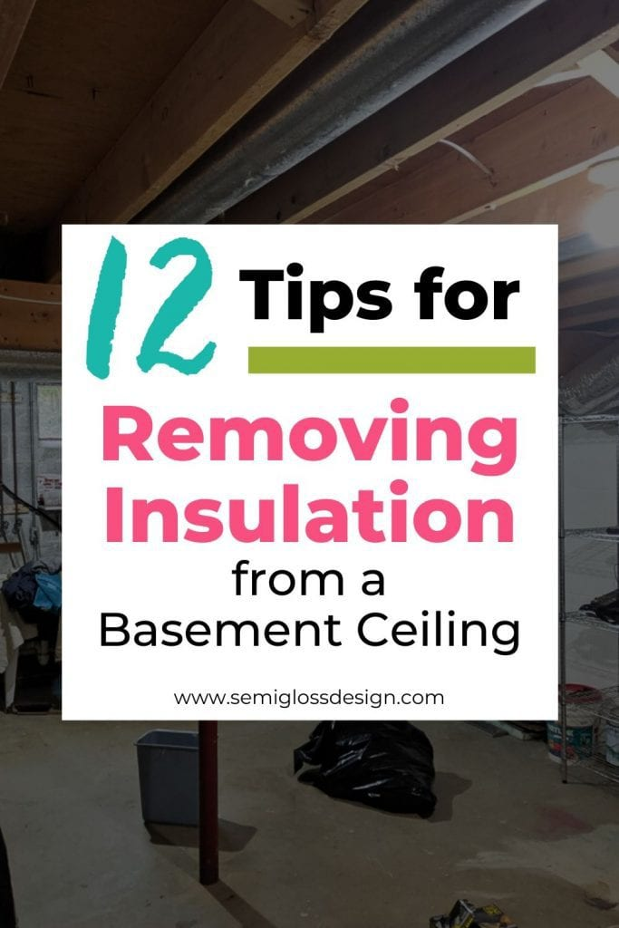 12 tips for removing insulation