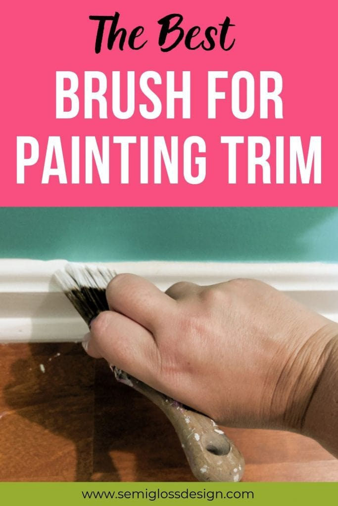 the best brush for painting trim