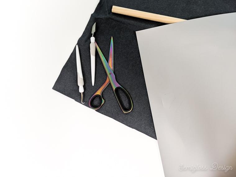 supplies for felt banner