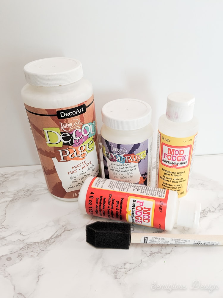 how to fix decoupage problems