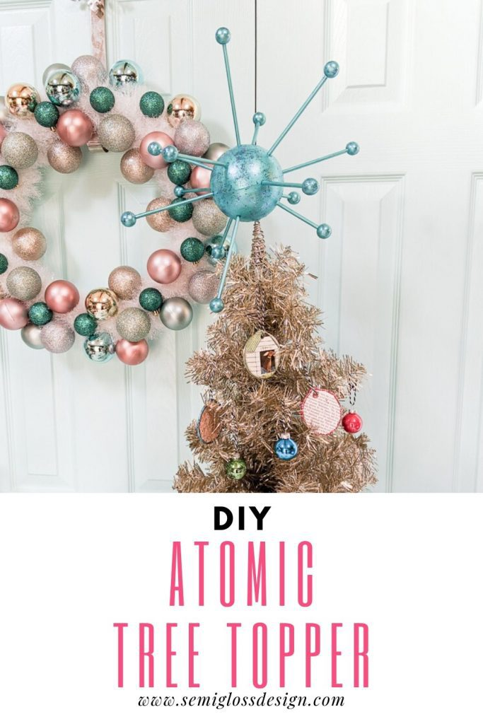 atomic tree topper for christmas