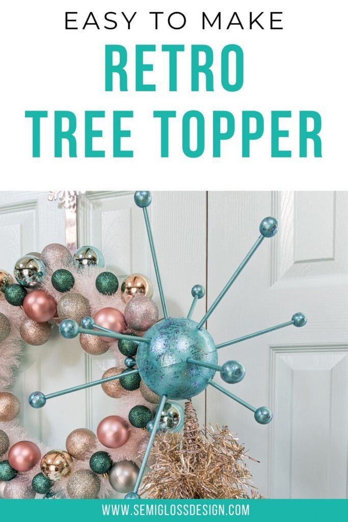 retro tree topper collage