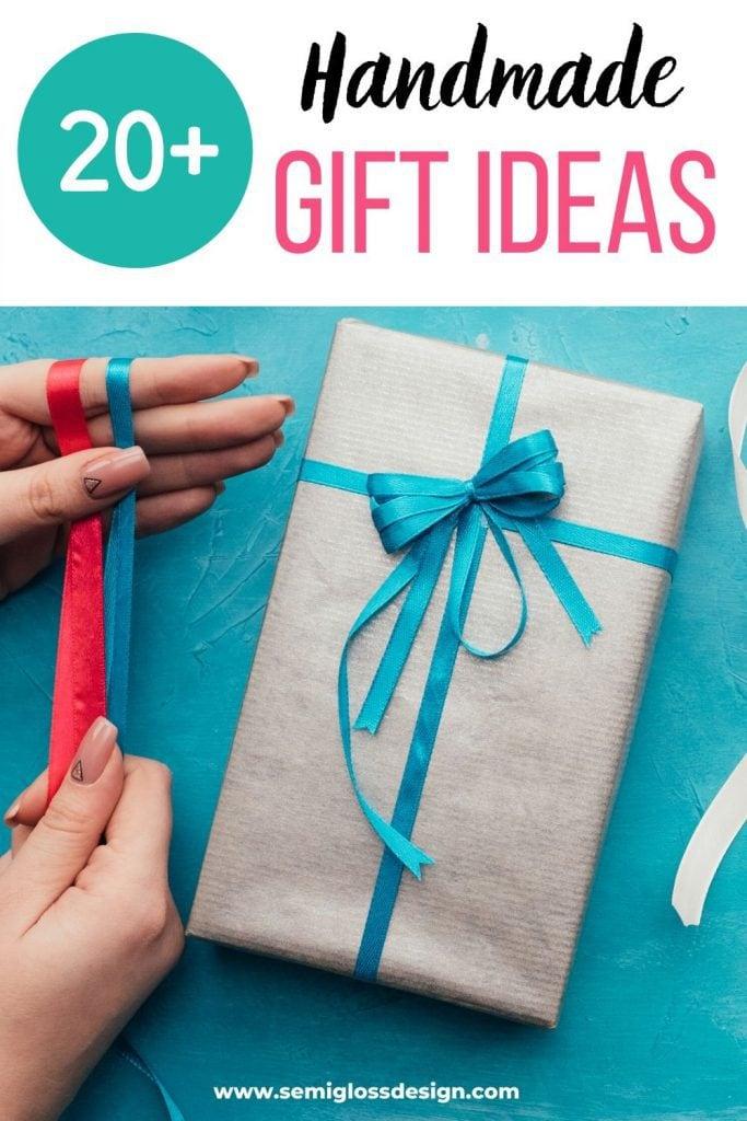 handmade gift idea collage