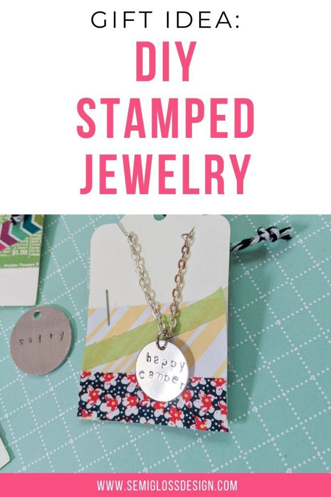 diy stamped jewelry collage