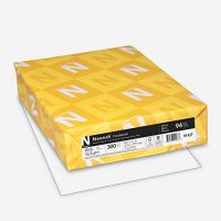 Neenah Cardstock, Heavy-Weight, White, 94 Brightness, 300 Sheets
