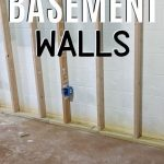 pin image - framed wall in basement