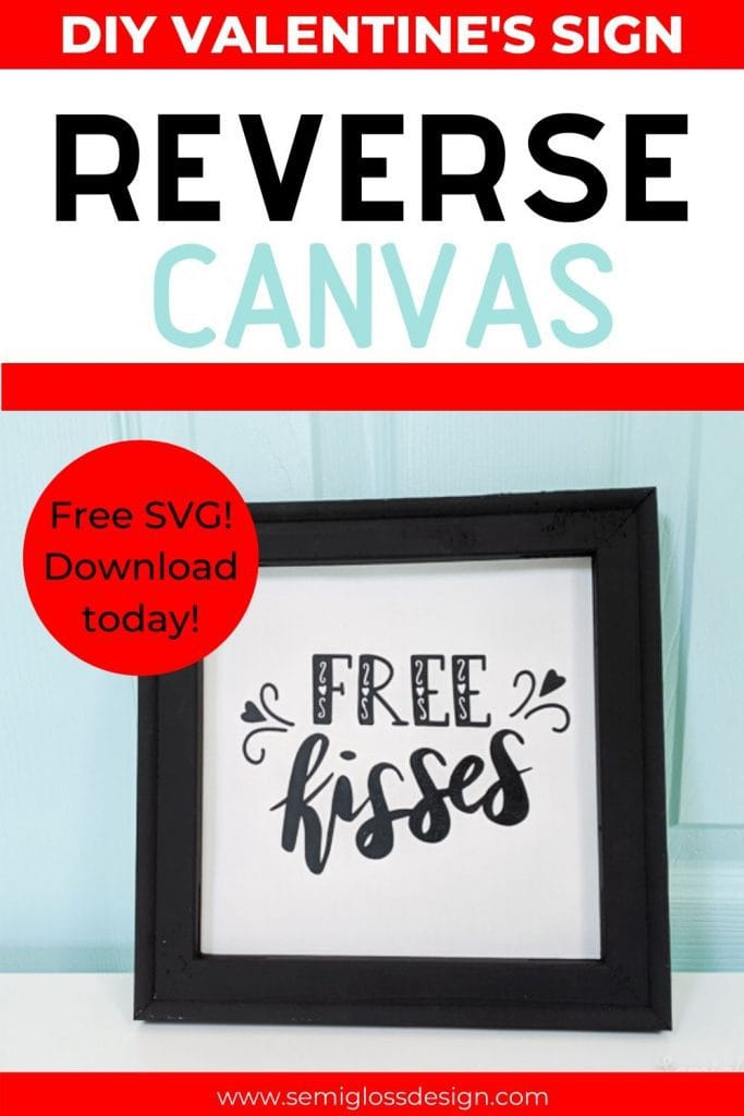 how to make a reverse canvas collage