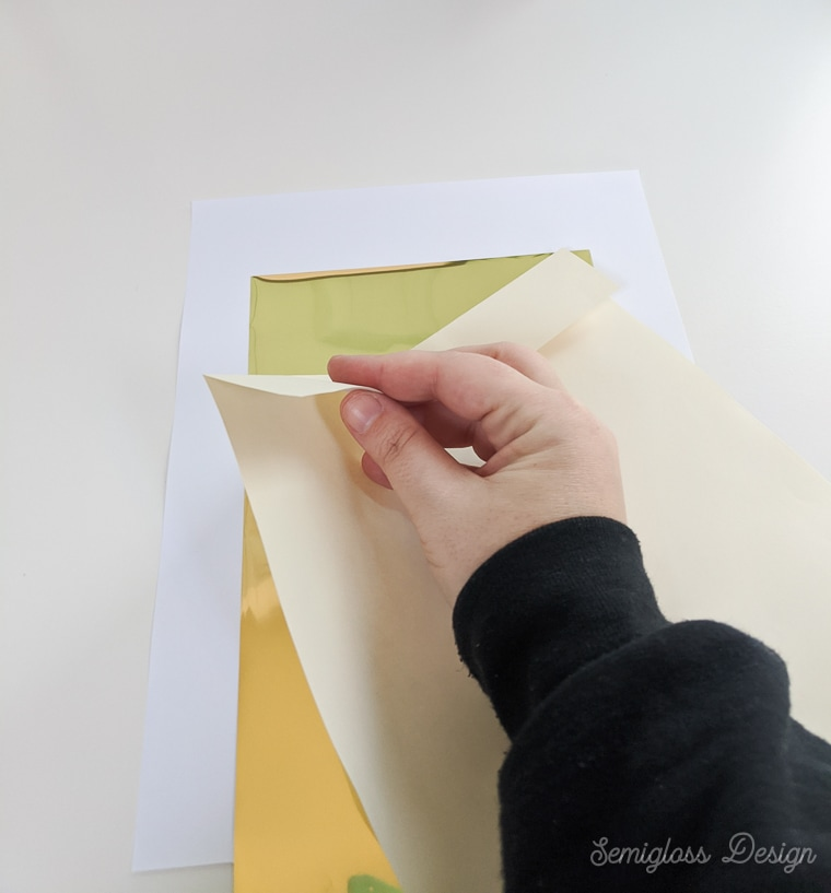 making paper envelope for laminator