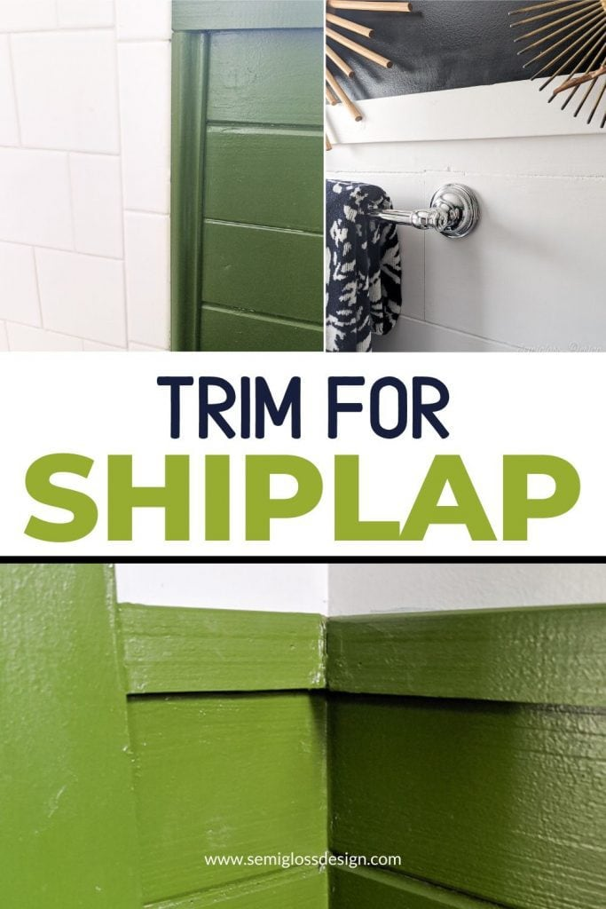 trim for shiplap collage