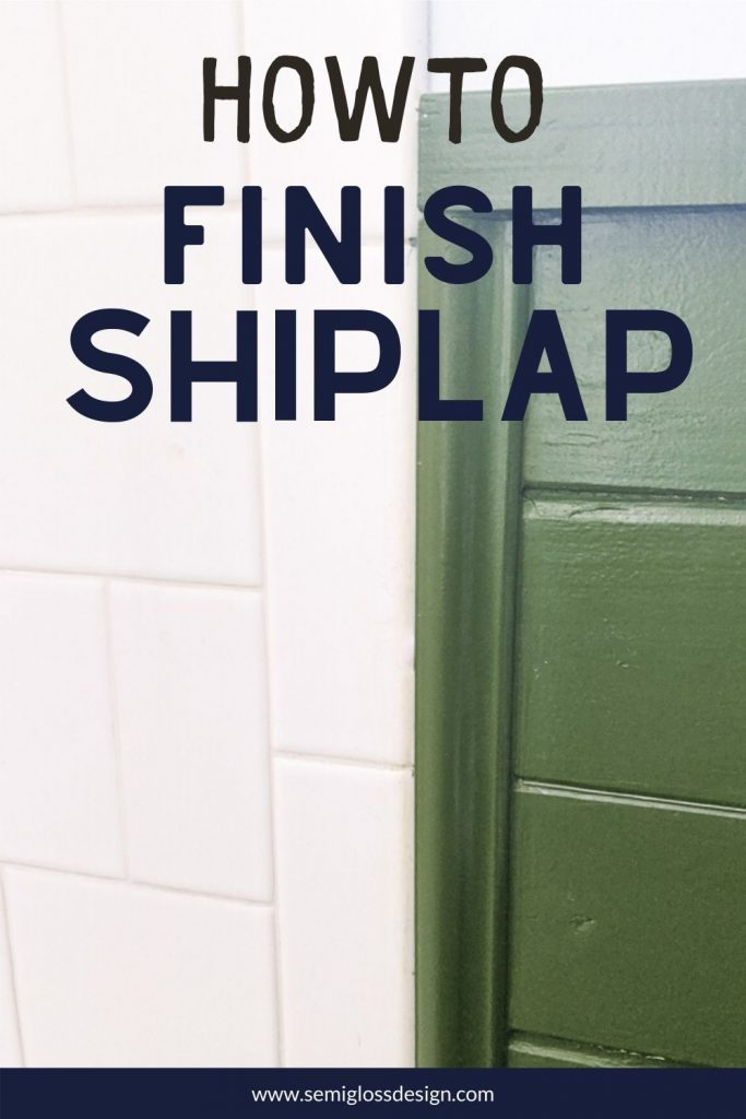 shiplap to tile transition with trim