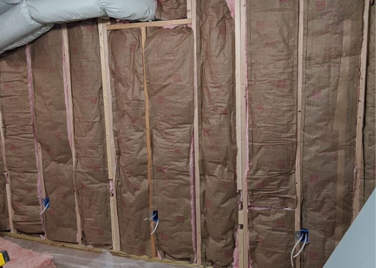 insulation in basement walls